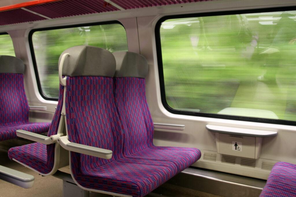 reizen per trein vaak sneller
