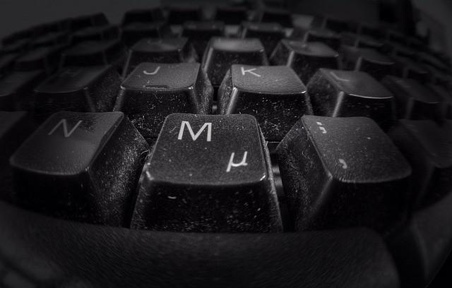 vies toetsenbord