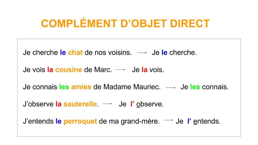 Dat in Frans zelfst nmw