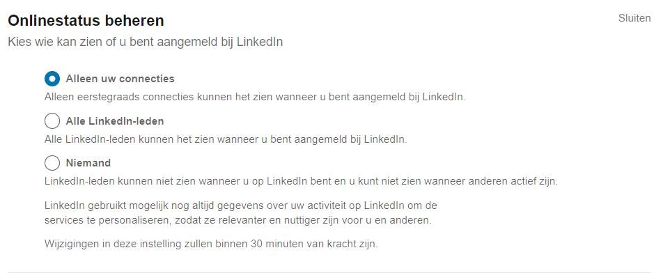Privacy Linkedin 3