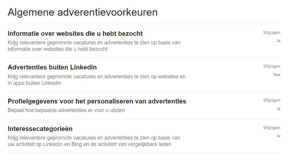 Privacy Linkedin 4