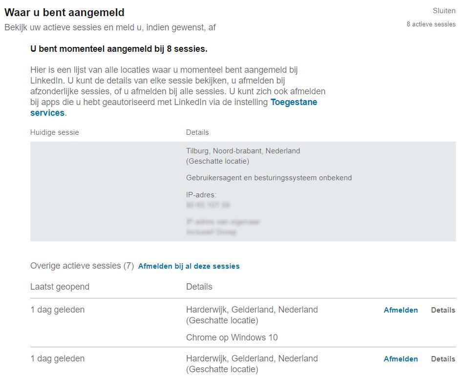 Privacy Linkedin 7