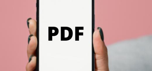 PDF maken met je iphone
